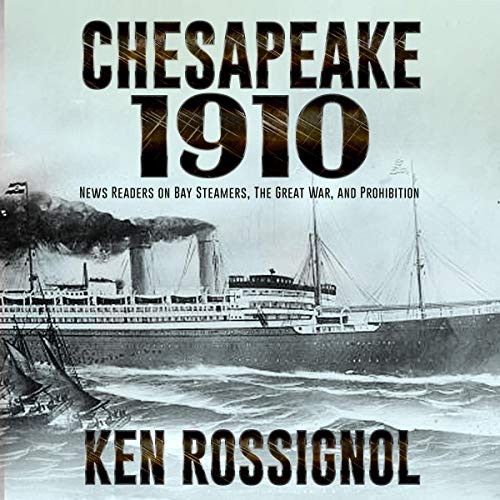 Chesapeake 1910 audiobook cover art
