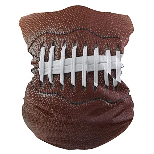 Funnyy American Football Kopfbedeckung Bandana Schal Hals Gaiter Stirnband nahtlose Sturmhaube Staub Gesicht Abdeckung Magic Tube Schal Multifunktionstuch Kopftuch Kopftuch Damen Herren Outdoor Sport