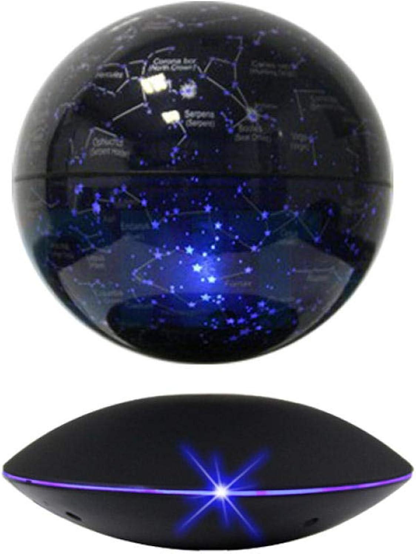 Jopjdpdsf Schwebender Globus,6 Zoll Magnetische Aufhebungkugel Leuchtende Selbstrotierende Verzierungen Schmucksachen, Zum Der Freunde Und Der Verwandten Zu Senden