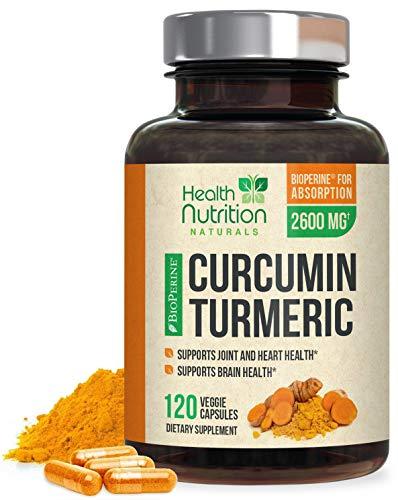 Turmeric Curcumin with BioPerine 95% Curcuminoids...
