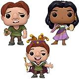 Funko Disney: POP! Hunchback of Notre Dame Collectors Set - Quasimodo, Quasimodo Fool, Esmeralda