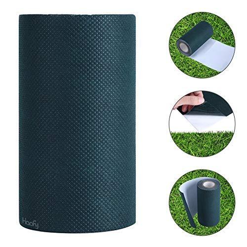 Kunstrasen Klebeband, Haofy Klebeband für Kunstrasen Rasenteppich Artificial Grass, Kunstrasen Synthetic Tape, Self-Adhesive Seaming Jointing Tape 500 x 15 cm