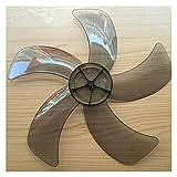 PUGONGYING Popular Viento Grande de 16 Pulgadas de 400 mm Blade de plástico para Fan para Multi-Brand 400 Midea FS40 Series Durable