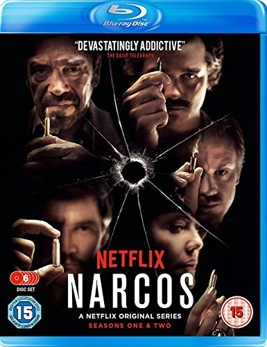 Narcos Season 1 & 2 Boxset [Blu-ray] [UK Import]