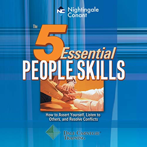 The 5 Essential People Skills audiobook cover art