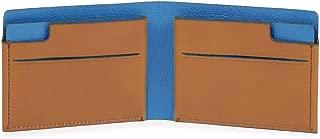 Piquadro Unisex Adults'Purse, Multicolore (Cuoio/Blu) (Multicolour) - PP4248BM/CUBL