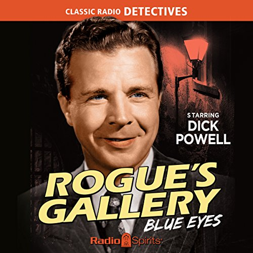 Rogue's Gallery: Blue Eyes audiobook cover art