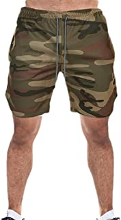 Mogogo Men's Oversized Fitness Quick Drying Sport Loose Fit Bermuda Shorts