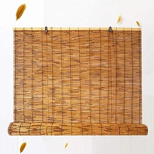 Bamboo Shades 全店販売中 for Windows Natural 定番スタイル Roll up Reed Bli Curtain