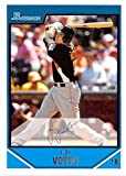 Joey Votto baseball card (Cincinnati Reds) 2007 Topps Bowman #BDDP98 Rookie. rookie card picture