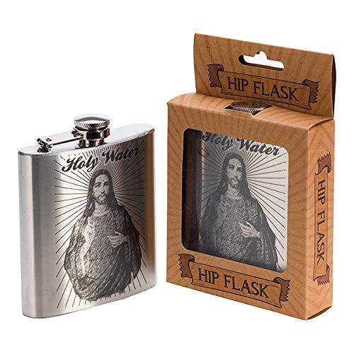 Diabolical Gifts DP0613 Weihwasserflasche, silberfarben