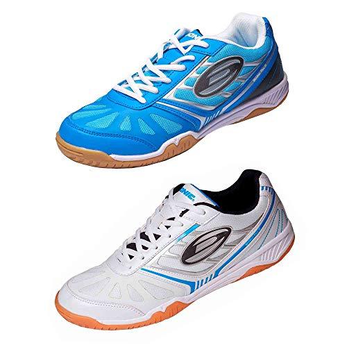 scarpe Donic Waldner Flex III, Opzioni 41, bianco / blu