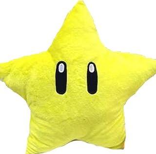 Manchester Case Funda de almohada de peluche dulce forma estrella 27,9cm