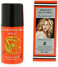 Dragon's 34000 Delay Spray for Men With EXTRA Vitamin E (And)The Punisher Pill Get Hard Stay Hard Last Longer Safe Sex Plus Love Potion Pen