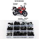 Xitomer Full Sets Fairing Bolts Kits, for Yamaha YZF-R6 2003 2004 2005 YZF-R6S 2006 2007 2...