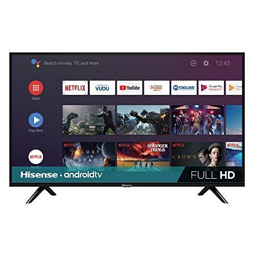 Hisense 40-Inch Class H55 Series Android Smart TV with Voice Remote (40H5500F, 2020 Model)