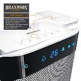 Immagine 1 brandson termoventilatore con telecomando stufetta