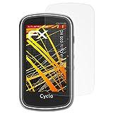 atFoliX Schutzfolie kompatibel mit Mio Cyclo 605 HC Bildschirmschutzfolie, HD-Entspiegelung FX Folie (3X)