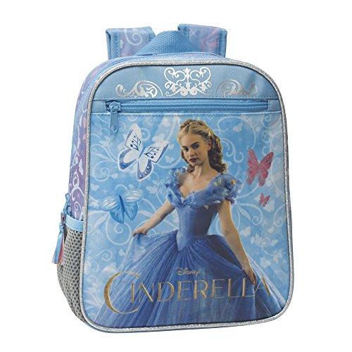 Disney Princesas Cinderella Mochila Preescolar adaptable Multicolor 23x28x10 cms Poliéster y PVC 6.44L