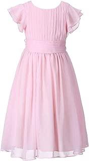 Chiffon Prom Party Dresses Bridesmaid Dress Flower Girl's Dress