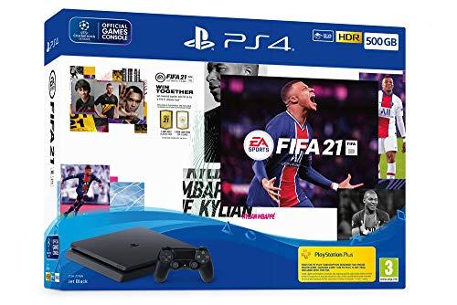 Console Pack Ps4 500 Go + Fifa 21 + Points Fut + Abonnement