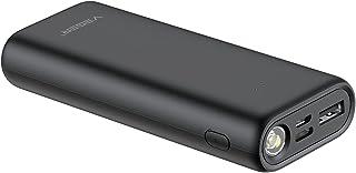 VEGER High Power 10000mAh MINI FLASH LIGHT PORTABLE power bank 10000mAh fast charger li-polymer external battery charger f...