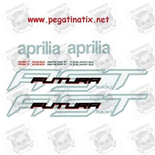 Stickers Decals Compatible Aprilia Futura RST 1000 Medida Original
