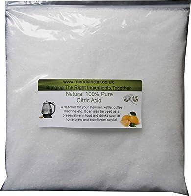 Citric Acid 1.8 KG. Ideal for Elderflower Cordial etc