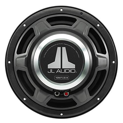 10W1V3-4 - JL Audio 10' Single 4-Ohm W1v3 Series Subwoofer