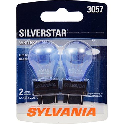 SYLVANIA 3057 SilverStar High Performance Miniature Bulb, (Contains 2 Bulbs)