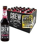 CREW REPUBLIC® Roundhouse Kick-Bière artisanale Imperial Stout | Bière de spécialité brassée selon les lois et exigences allemandes en matière de pureté brassicole (20 x 0,33l)