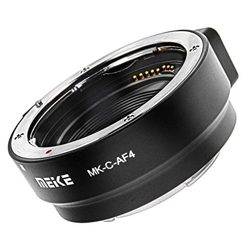 Adapterring kompatibel mit Canon EF und EF-S auf EOS M - Meike MK-C-AF4