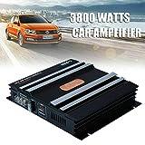 Amplificatore per auto a 2 canali, amplificatore di potenza audio per auto MACHSWON 3800W amplificatore per subwoofer a 2 canali