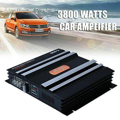 2 Channel car amplifier, MACHSWON 3800W car audio power amplifier bass box...