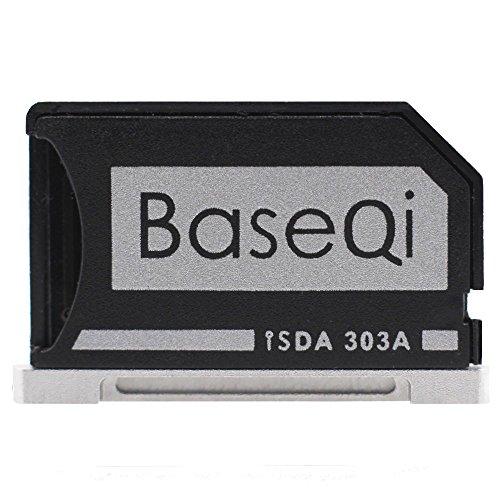 BASEQI Aluminum microSD Adapter for MacBook Pro Retina 13'