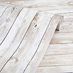 LARGER SIZE AND FEATURES HOLDES: 17.71 X 118 In, the width of wood is 2.4 In, looks real wood grain, 3D visual effect, warm color. Multi-volumes can be perfectly stitched without the difference. Thickened, quality upgraded, strong coverage, made of P...