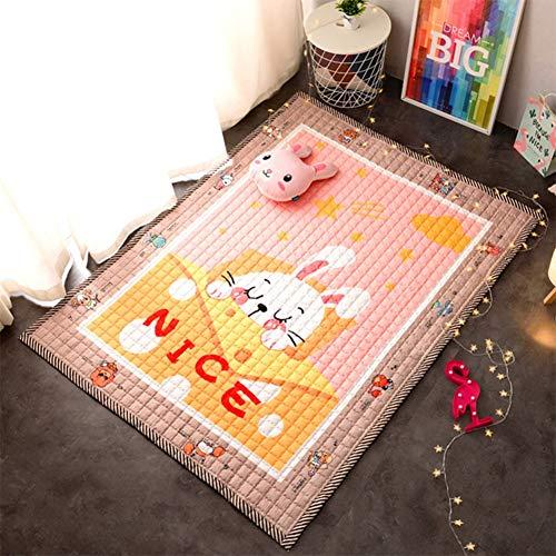 Unbekannt Baby Kleinkind Crawl Mat, Baby Krabbelmatte| rutschfestes Gym Spielmatte | ideal als LaufgittereinlageD