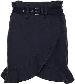 ISABEL MARANT ÉTOILE Luxury Fashion Womens JU108420P007E02FK Black Skirt |