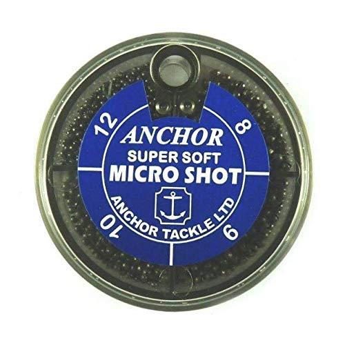 Anchor Tackle Micro Shot Spender mit 4 Fächern, blau, Size 8/9/10/12