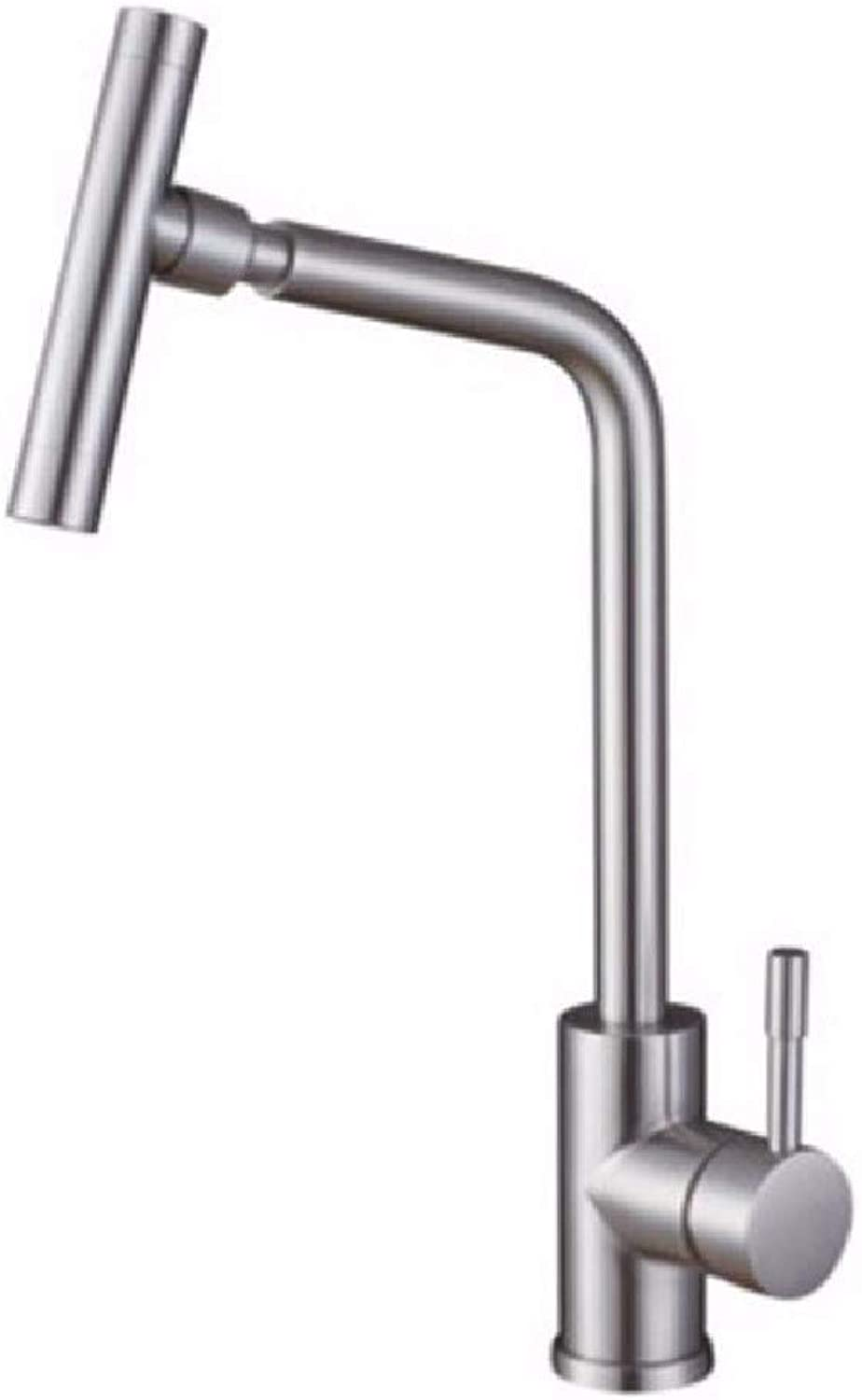ZPSPZ kitchen mixer tap 304 Stainless Steel Sink, Faucet Kitchen Washing Basin, Hot And Cold Water Faucets Can Be redated.