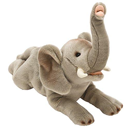 Suki Gifts 12081 - Yomiko Elefante di Peluche, 42Cm, Grigio