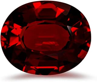 Mysticdrop Natural Loose Oval Step Cut AAA Mozambique Garnet from 8x6MM-12x10MM