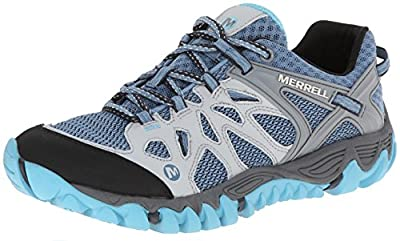 Merrell Women's All Out Blaze Aero Sport Hiking Water Shoe,Blue Heaven,8 M US