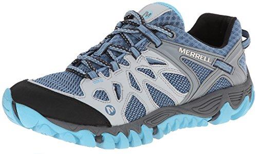 Merrell Women's All Out Blaze Aero Sport Hiking Water Shoe,Blue Heaven,9.5 M US