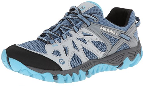 Merrell Women's All Out Blaze Aero Sport Hiking Water Shoe,Blue Heaven,9.5 M US