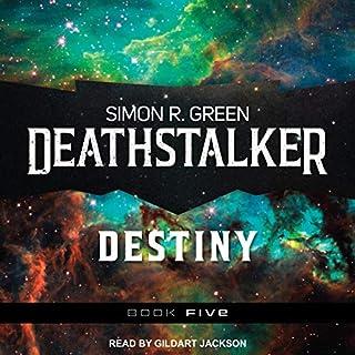 Deathstalker Destiny audiobook cover art