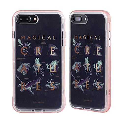 Head Case Designs Oficial Harry Potter Libro de los Monstruos Reliquias de la Muerte XXXI Caso de Guardabarros Compatible con Apple iPhone 7 / iPhone 8 / iPhone SE 2020