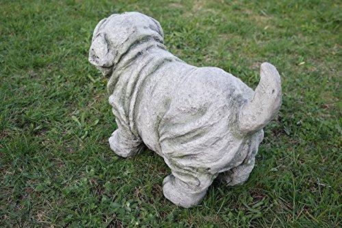 Figure de jardin carlin avec d'optique de pierre