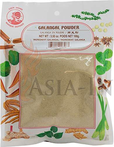 Galgant Pulver - Thai-Ingwer Galangal - 100g
