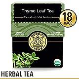 Organic Thyme Leaf Tea, 18 Bleach-Free Tea Bags – Caffeine Free, Antifungal Tea with Antibacterial...